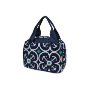 Flower Anchor Print NGIL Insulated Lunch Bag