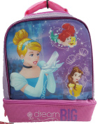 Disney Princess 2 Compartment Lunch Pack - Lavender and Pink