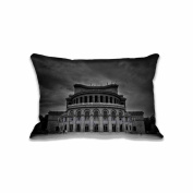 Freedom Square Standard Size Pillow Case 50cm x 80cm Zippered Digital Print Adults Kids Cushion Covers