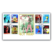 Buckingham Covers 2011 Musicals (The Boy Friend/Gigi/London Palladium) First Day Cover featuring Royal Mail stamps issued 22/2/11