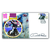 Buckingham Covers 2012 Gold Medal Collection First Day Cover, celebrating Charlotte Dujardin winning Equestrian