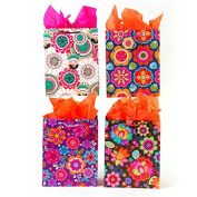 FLOMO Large Flower Power Gift Bags - Assorted