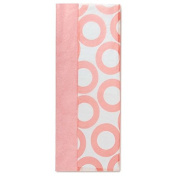 Solid Pink and Pink Circles Dual-Pack Tissue Paper