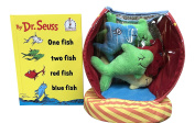 One Fish Two Fish Red Fish Blue Fish (I Can Read It All by Myself) Book and Dr. Seuss One Fish Bowl Baby Activity Toy Bundle