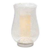 Candle Impressions CAT11858CS Crackle Glass Urn with Programmable Timer, 7.5-by 11