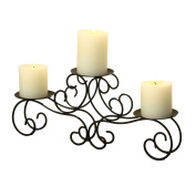 Table Desk Candle Holder Wrought Iron Wedding Centrepiece Home Decor