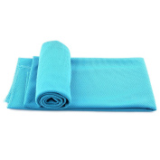 Ranipobo Cooling Towel Versatile Sports Exercise Outdoor Home Sweat Evaporative Summer Ice cool Towels 35 x 90cm