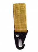 VWH Webbing Attachement Strap Belt Outdoor Hanging Belt Nylon Climbing Clip Key Hook Buckle