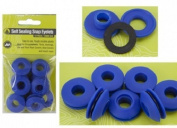 Self Sealing Snap Eyelets Pastic 12mm Dia --- 10 In A Pack