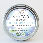 Makes 3 Organics All Over Body Balm - EWG VERIFIED - Moisturising Body Balm - Use on Dry Skin, Eczema