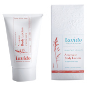 Lavido Natural Patchouli, Vanilla, and Avocado Oil Aromatic Body Lotion 120mls