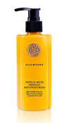 TROPICAL WOOD - AROMATIC BODY moisturiser (230ml) with Certified ORGANIC Olive Oil & Actinidia Chinensis Fresh Cells