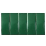 MagiDeal 5pcs Waterproof Pressure Adhesive Tent Repair Patch - Green