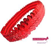 3 Row Metallic Stretch Sequin Headband by Expo International, Inc
