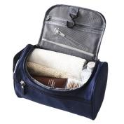 Portable Travel Cosmetic Makeup Bag Large Multi-layer Waterproof Zipper Toiletry Kit Bathroom Shower Wall Mount Hanging Toiletry Bag Case Caddy Organiser Storage Bag for Women & Men