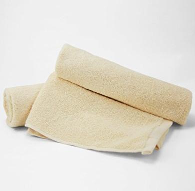 Hand Towel 16 x 30 100% Cotton -2pc (Ecru colour)