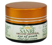 SanRe Organic Skinfood - EYE OF YOUTH - Anti-Ageing Eye Cream - Holistic, Non-GMO & Gluten Free