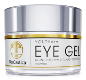 Neuceutica Eye Gel - For Reduction Of Fine Lines, Dark Circles, and Other Problems Related to Age. Matrixyl 3000, Hyaluronic Acid, Peptides, 30ml