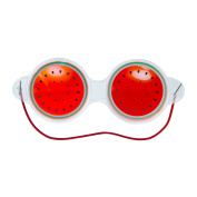 Watermelon Gel Hot and Cold Compress Eye Mask + Travel Bag