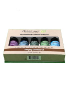 Nature Love Aromatherapy Essential Oil Blends Everyday Essentials Kit 5 pieces