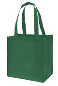 Pack of 2 - Reusable, Eco-Friendly 30cm Small Size Non Woven Shopper Tote Bag
