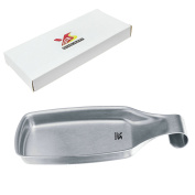 BIGSUNNY Spoon Rests for Kitchen, Durable Brushed Stainless Steel 18/8