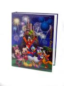 "Disney Exclusive Mickey Mouse & Friends ""Disney Memories"" Blue Photo Album Holds 200 Photo Size Up To 10cm X 15cm"