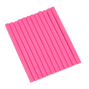 GlueSticksDirect Neon Pink Coloured Glue Sticks mini X 10cm 12 Sticks