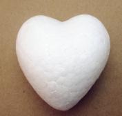 "Dandan DIY 2pcs 15cm(6"")Approx Smooth Foam Heart Shaped Foam Craft Making Foam Ball Home Wedding Decor Love Style Diy Supply"