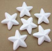 Dandan DIY 40pcs Smoothfoam Star Shaped Foam Craft Making Foam Ball Wedding Decor Diy Supply