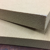 Kydex Pressing foam - 12 x 30cm x 2.5cm - Tan - 2 Pieces