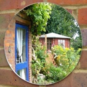Circle Garden Mirror - Pack of Ten - 10cm
