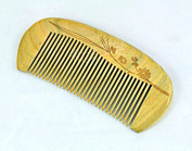 125.5CM No Static Green Sandalwood Wooden Comb Health Care Comb S1