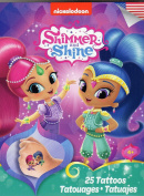 Shimmer and Shine - Temporary Tattoos - 25 Tattoos