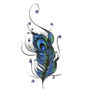 Temporary Tattoos for Guys or Women – Designs for Arms Shoulders Chest & Back