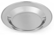 OUTDOOR FREAKZ Stainless Steel Plate and Bowl for Outdoor Activities / Camping / Adventure