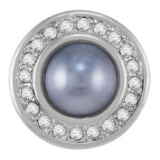 Ginger Snaps Grey Miss Pearl Snap