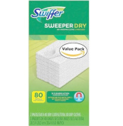 Swiffer Sweeper Dry Sweeping Pad Refills for Hardwood and Floor Mop Cleaner Unscented