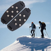 7-Stud Climbing Ice Shoe Cover Spike Cleats Crampons Gripper
