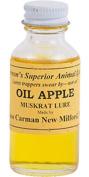 Oil Apple Muskrat Lure by Russ Carman