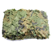Ginsco Camouflage Net Desert Camo Netting for Camping Military Hunting Shooting 2m x 3m