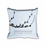 Square 41cm x 41cm Zippered From Nowhere Tree Blue Pillowcases Digital Print Adults Kids Cushion Covers