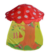 Sealive Cute Cartoon Pop-up Play Tent Portable Kids Boys Girls Mushroom Tent Toy Children Indoor Outdoor Play House for Fun Play