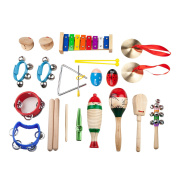 Kids Mini Band Musical Instruments Rhythm Xylophone Set for Percussion Toy