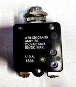 W58-XB1C4A-30 NTE Equvilent NTE R58-30A 30A circuit breaker