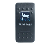 Bandc waterproof Car Boat Blue Led 7 pin MOMENTARY ON / OFF / MOMENTARY ON Dpdt TRIM TABS Rocker Switch