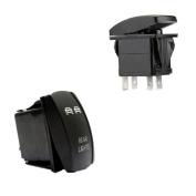 Rocker Switch,BSGSH LED Light Bar Rocker Toggle for Car Marine Waterproof Push Rocker Toggle ON-OFF LED Light 20A 12V
