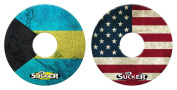 Lil Sucker Flag Suction Ring - 2 Pack