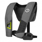 Mustang Survival Mustang Dlx 38 Deluxe Manual Inflatable Pfd - Black/fluorescent Yellow-Green Colour = NONE | Haz-Mat =