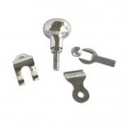 M-ARINE BABY Steering Wheel Spinner, Boat Steering Wheel Knob, Manoeuvring Knob,316 Stainless Steel
